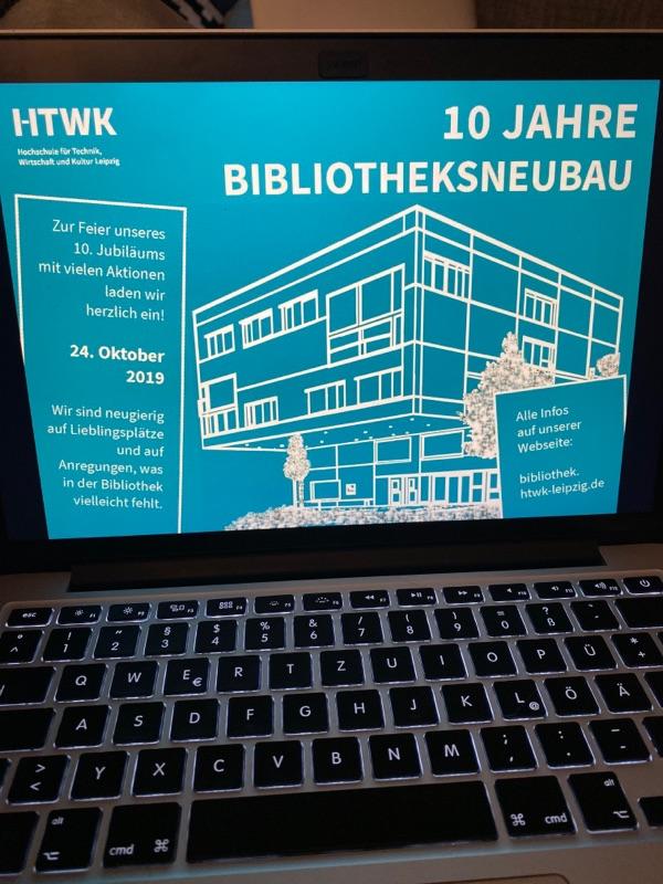 10 JAHRE HTWK BIB-NEUBAU