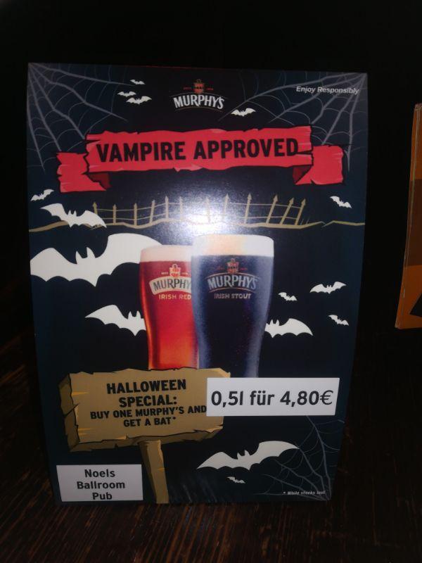 Halloween im Noels Ballroom Pub