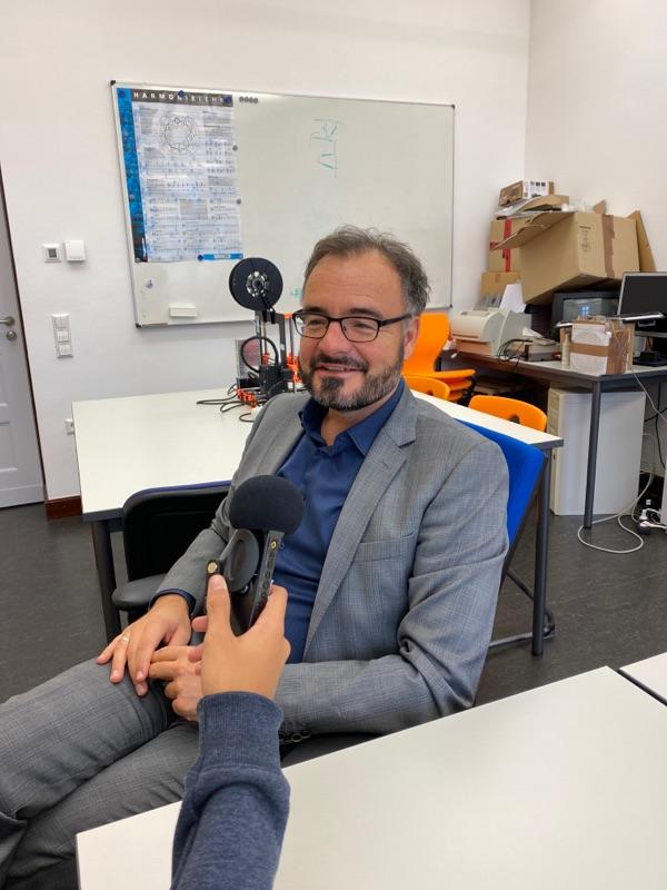 """Prof. Liesching zu """"Coinmaster"""" auf Radio Blau"""