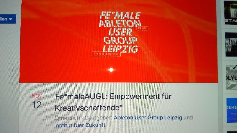 Fe*maleAUGL: Empowerment für Kreativschaffende