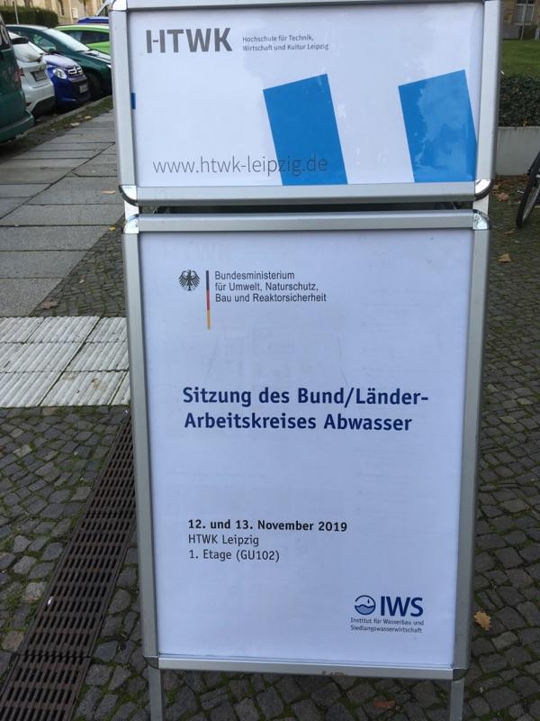 Sitzung des Bund/Länder Arbeitskreises Abwasser