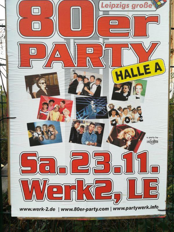 80er Party im Werk II