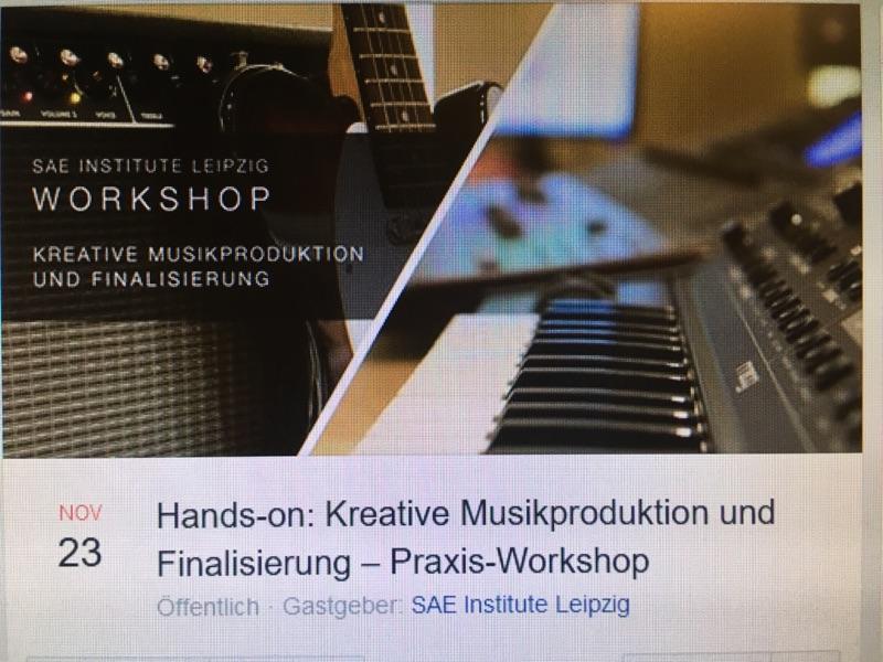 Workshop zu Musikproduktion am SAE Institut