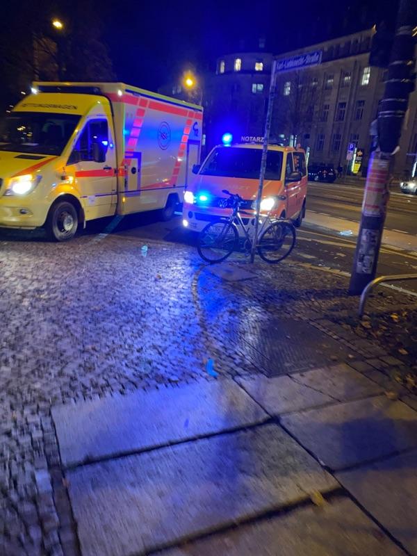 Unfall am Geutebrückbau