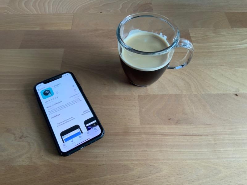 Es gibt ein Update für deine Croows-App!