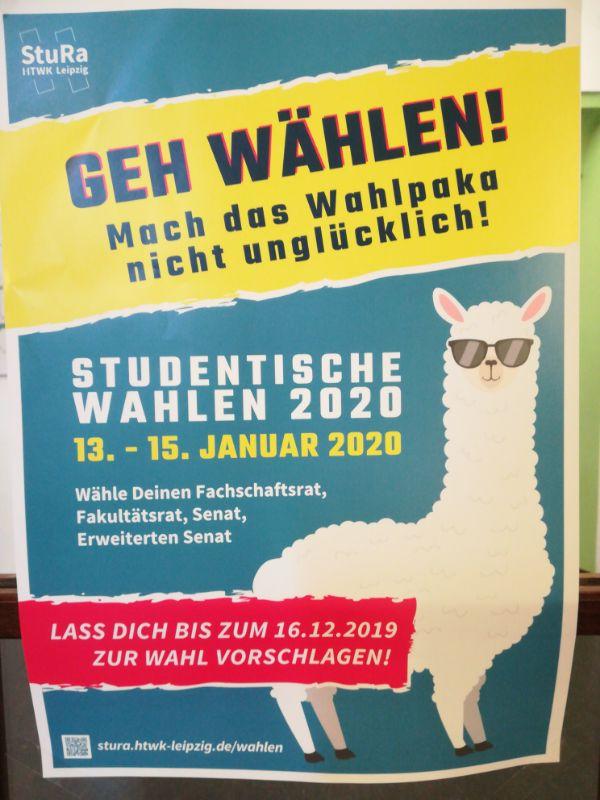 Wählen an der HTWK Leipzig