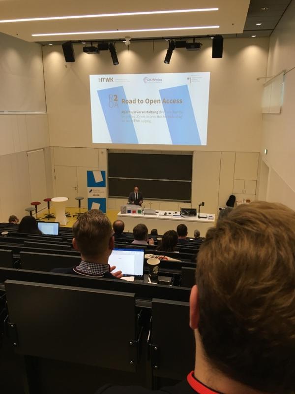 Road to Open Access — Tagung an der HTWK