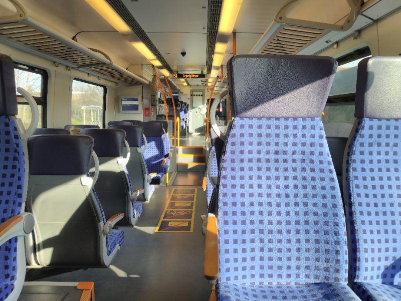 S-Bahn leer