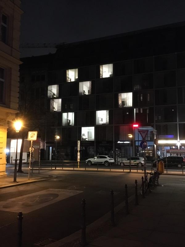 Hotel-Smiley: Berlin bei Nacht