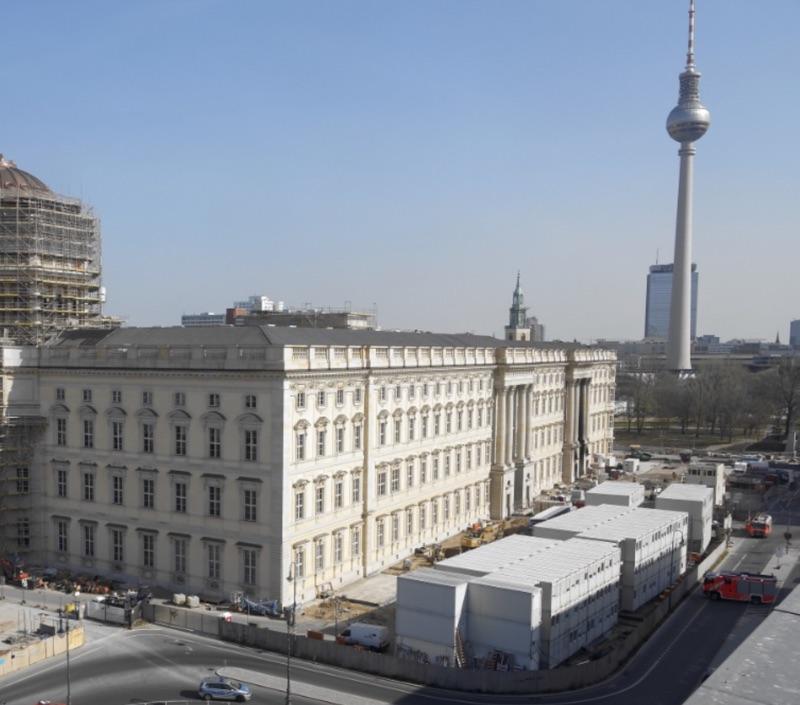 Feuer im Stadtschloss Berlin