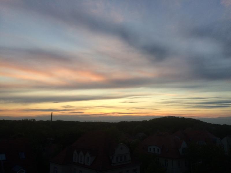 Sonnenuntergang & Fockeberg
