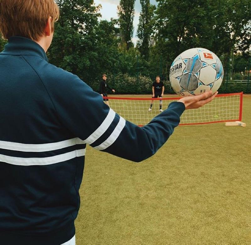 Fussballspielen trotz Corona