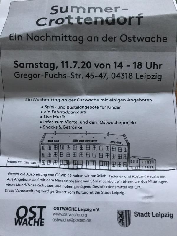 Sommerfest in Anger-Crottendorf