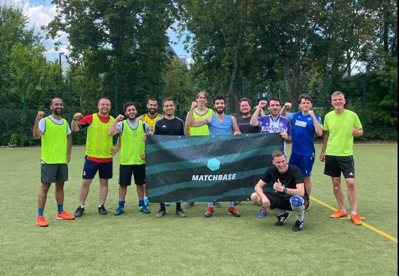 In Berlin wieder Fussball für Freizeitsportler
