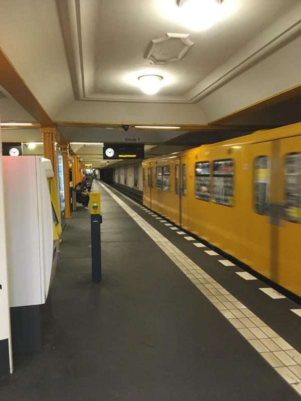 U-Bahnen in Mitte fahren wieder
