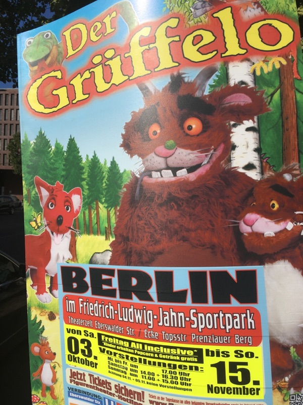 Der Grüffelo kommt nach Berlin Mitte