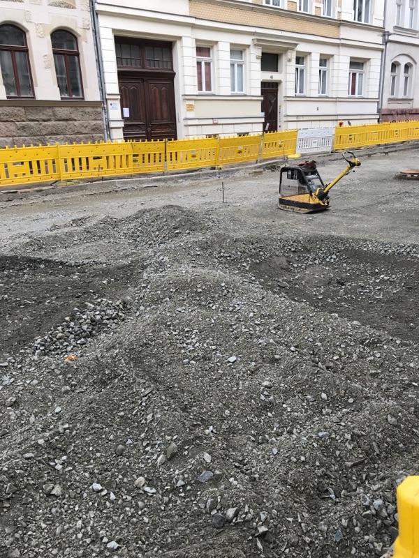 Baustelle Arndtstraße bald beendet