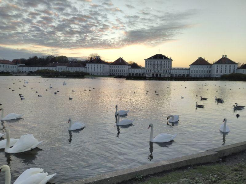 Abend in Nymphenburg