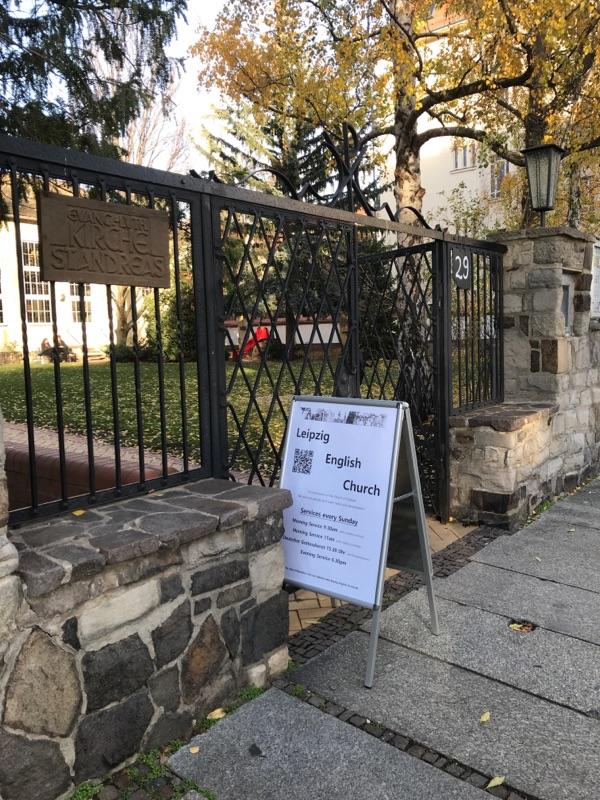 Leipzig English Church geöffnet