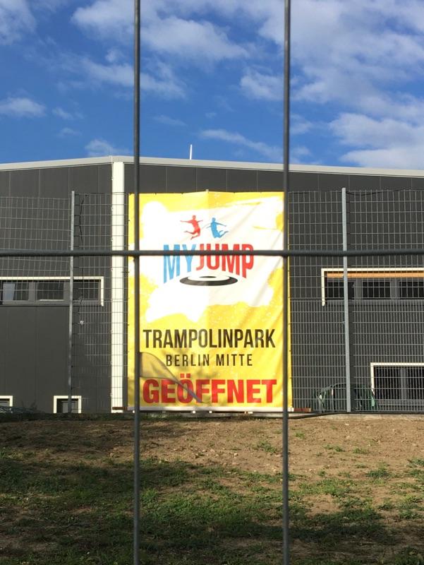 Trampolinpark Berlin Mitte nicht mehr geöffnet