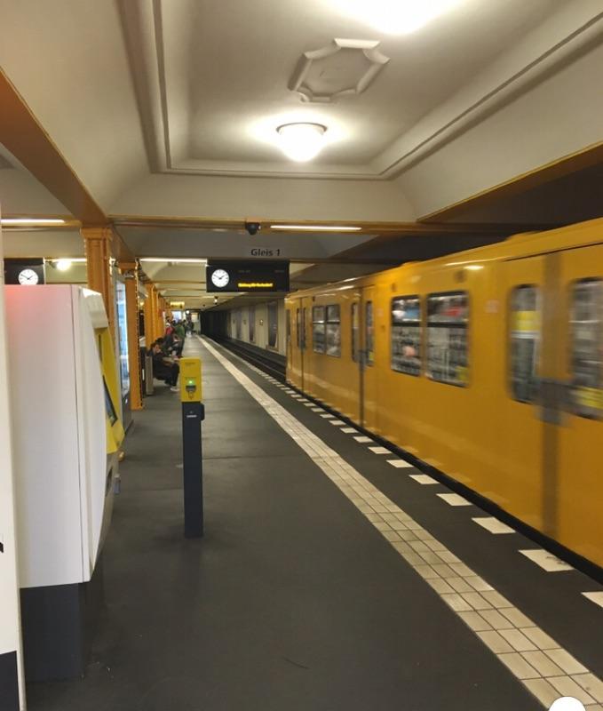 U6: Kein Zugverkehr zwischen Wedding und Tempelhof
