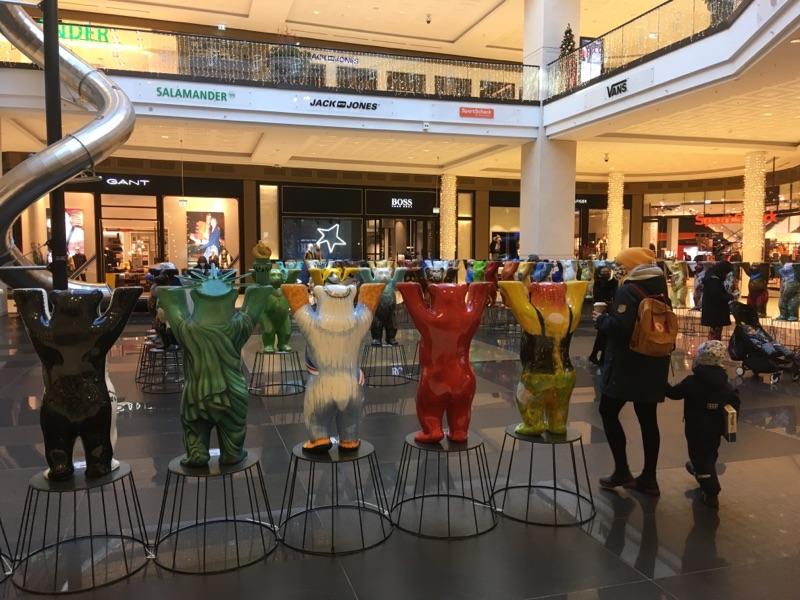 Mall von Berlin geöffnet