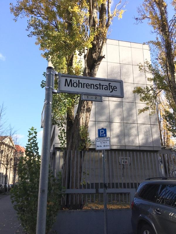Lösung im Streit um die Mohrenstrasse in Berlin?