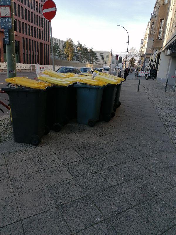 Müllsperre