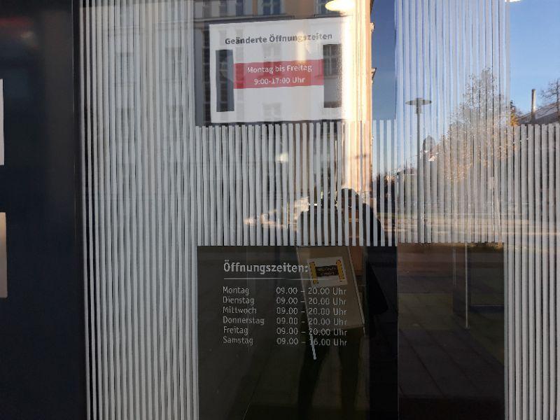 HTWK Bibliothek nur bis 17 Uhr geöffnet