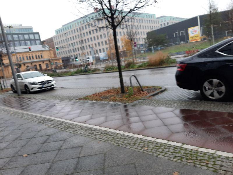 Regnerisches Wetter in Berlin