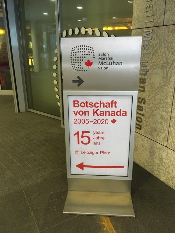 15 Jahre kanadische Botschaft in Berlin
