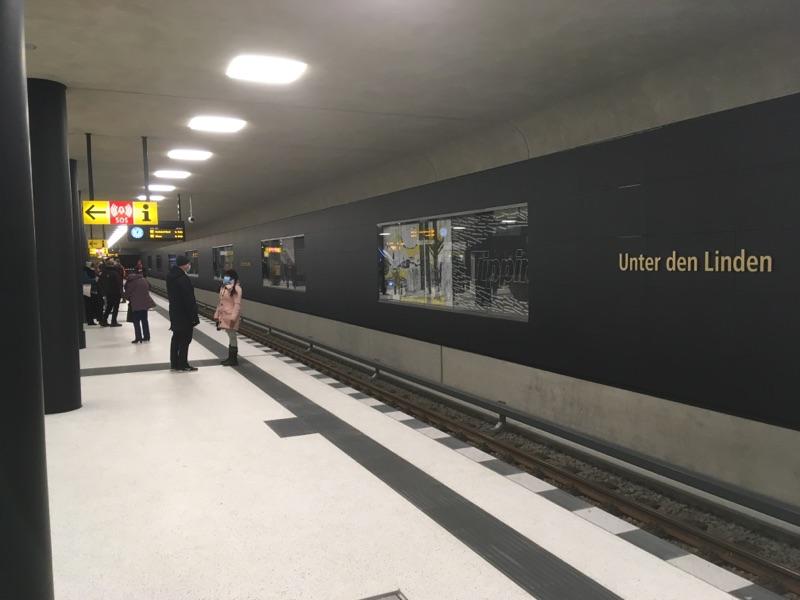 Unter den Linden: Neuer U-Bahnhof eröffnet