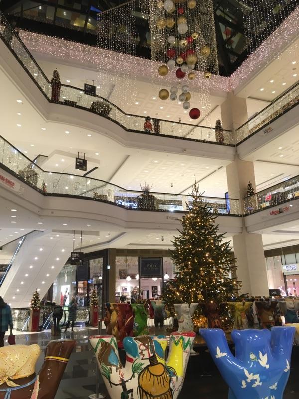 In der Mall of Berlin nichts los