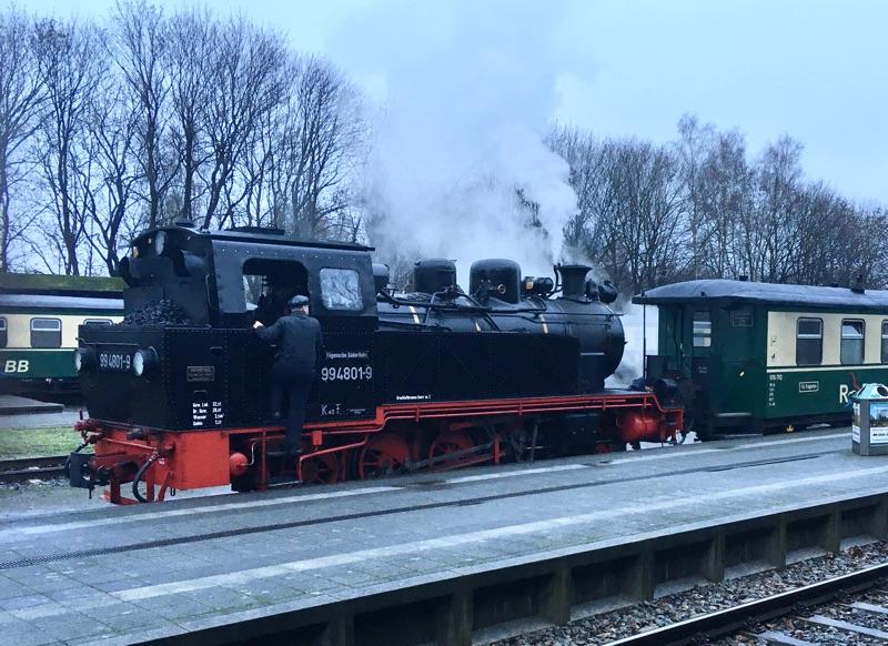 Rasender Roland auf Rügen weiter unter Dampf