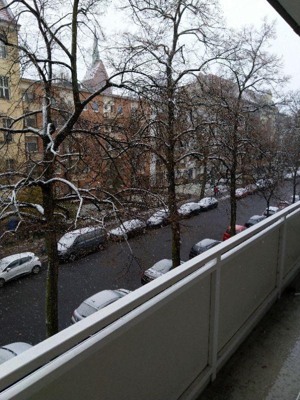 Schnee in Schöneberg