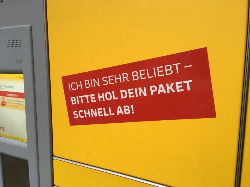 Packstationen in Berlin stark nachgefragt