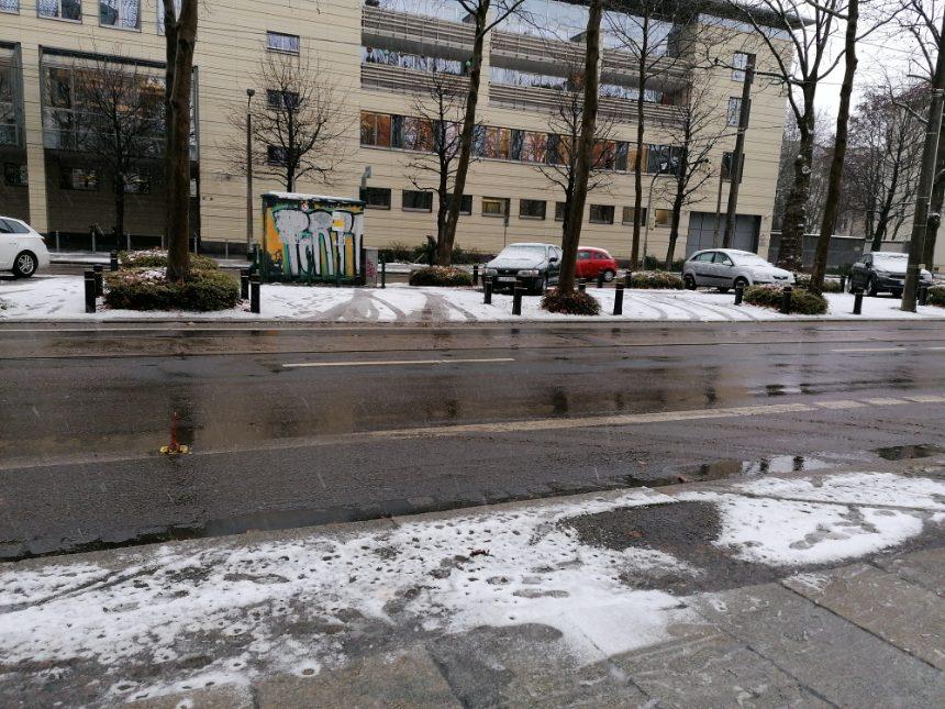 Es liegt wieder (etwas) Schnee