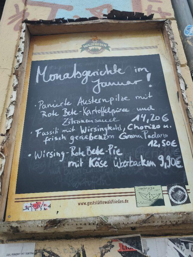 Gute deutsche Küche