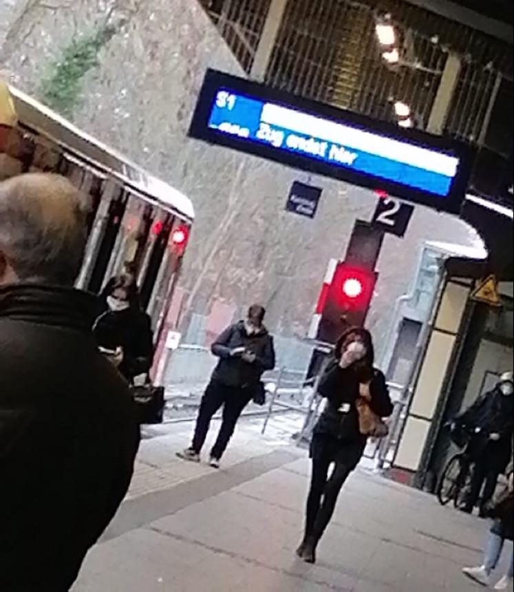Zugverkehr S1 im Norden unterbrochen