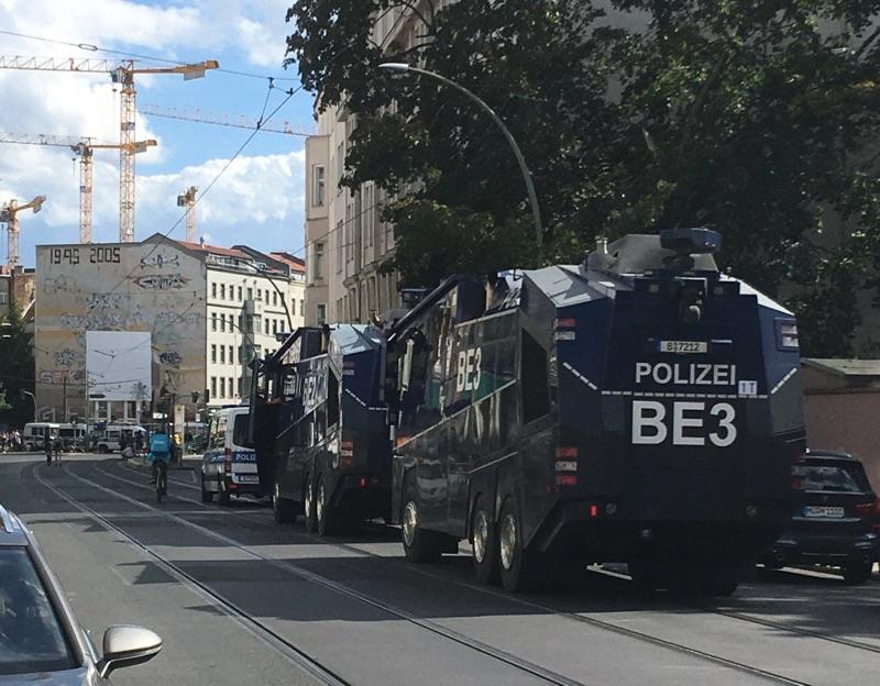 Vier Demonstrationen in Berlin Pfingsten verboten