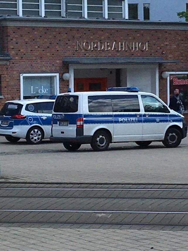 Polizei-Einsatz am Nordbahnhof
