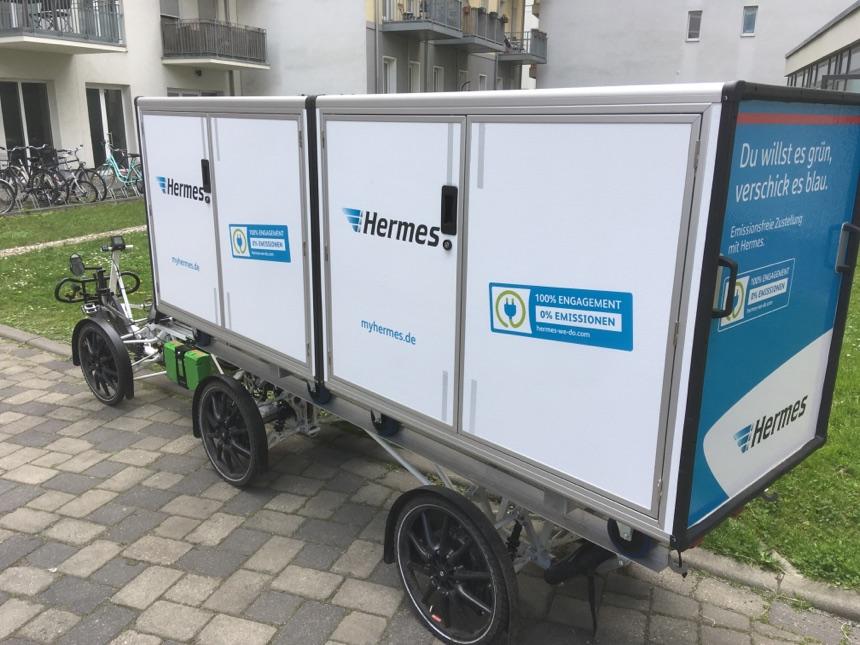 Klimafreundliche Zustellung von Paketen