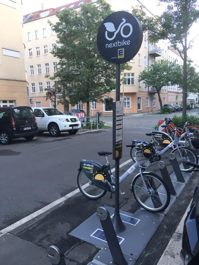 Neuer Fahrräder-Sharing Hub
