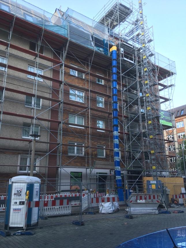 Haus an der Torstrasse wird renoviert