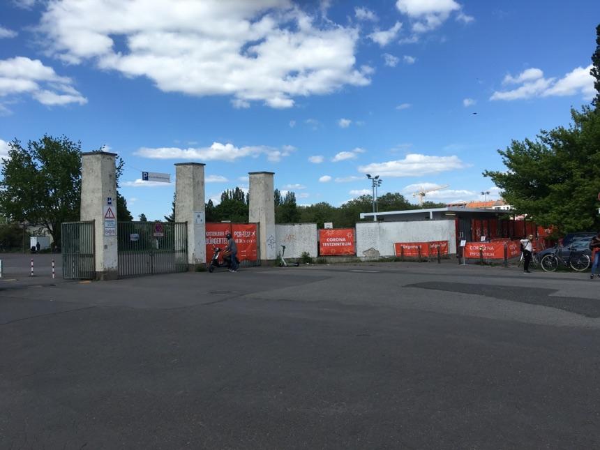 Neues Test Center in Prenzlauer Berg