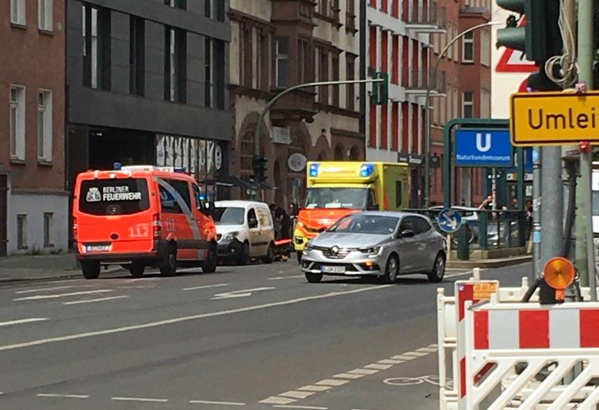 Notarzt-Einsatz auf der Chausseestraße