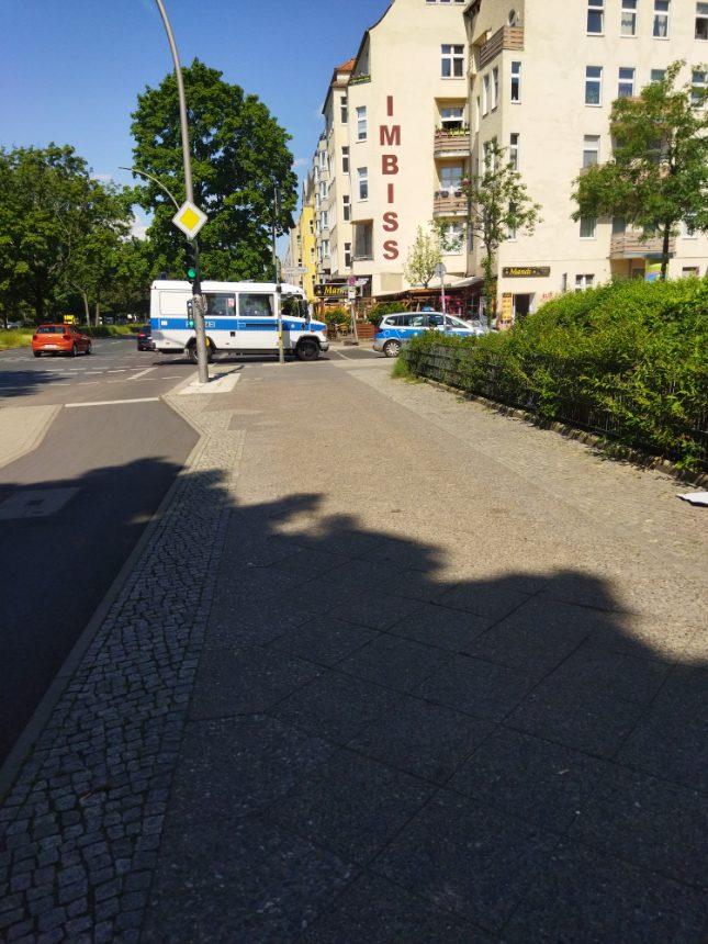 Polizeieinsatz in Seestraße