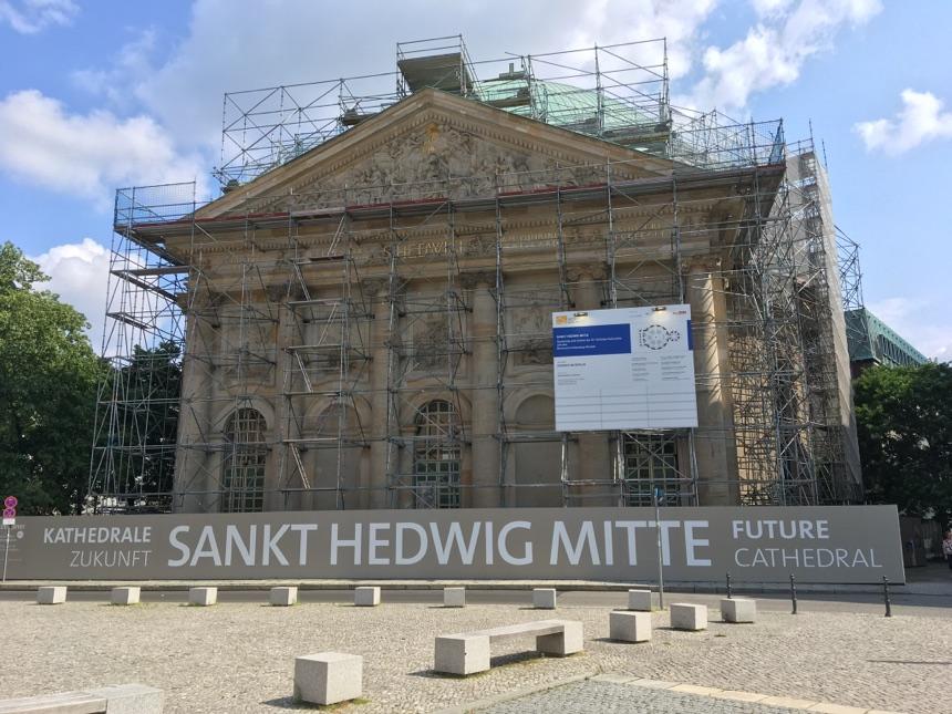 St. Hedwig-Kirche in Mitte geschlossen