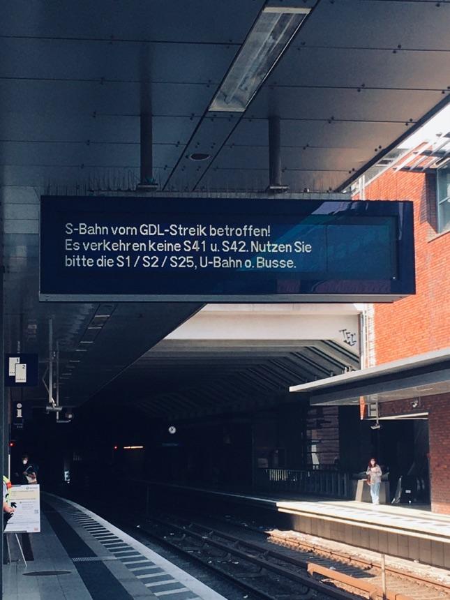 Streik bei der Bahn: S41 und S 42 fahren wieder