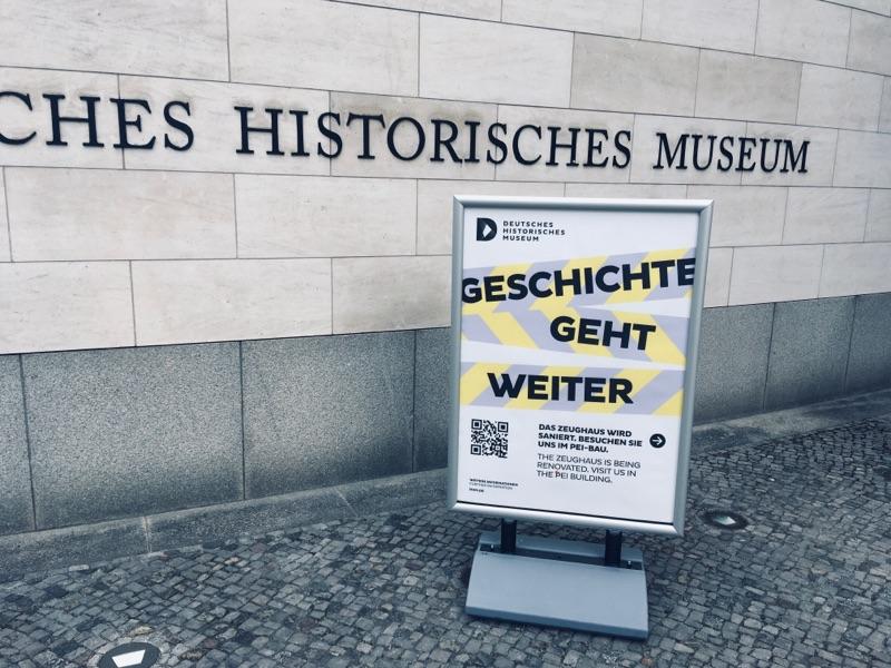 Deutsches Historisches Museum zum Teil geschlossen